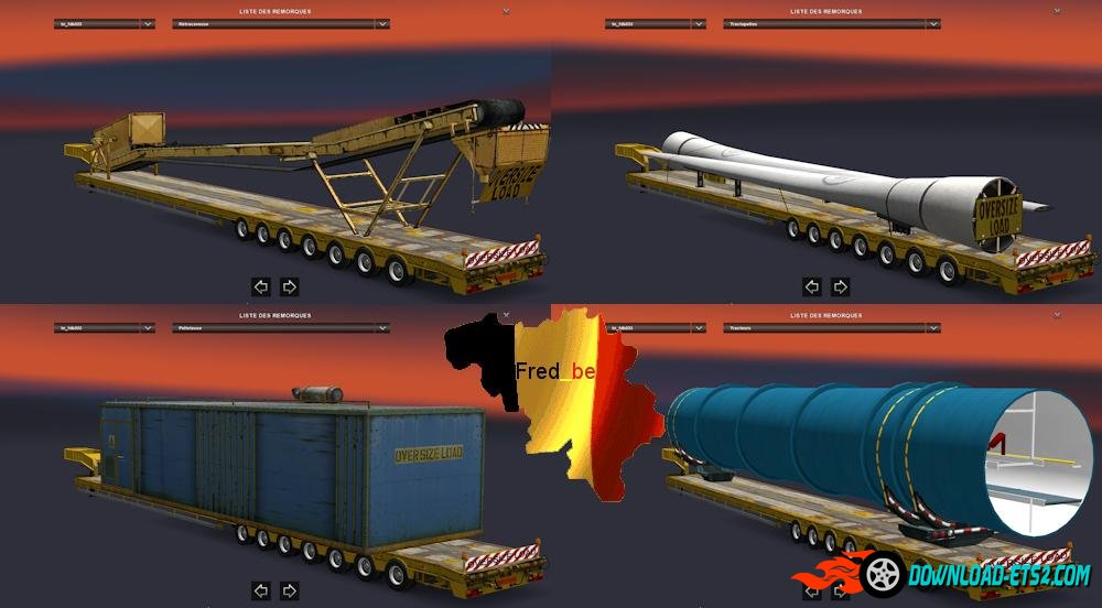Oversize trailers 1.22x  fixed