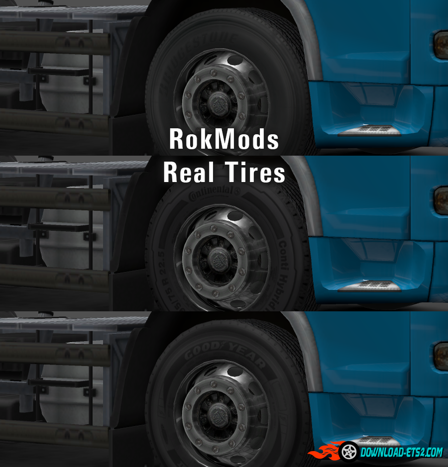 RokMods Real Tires