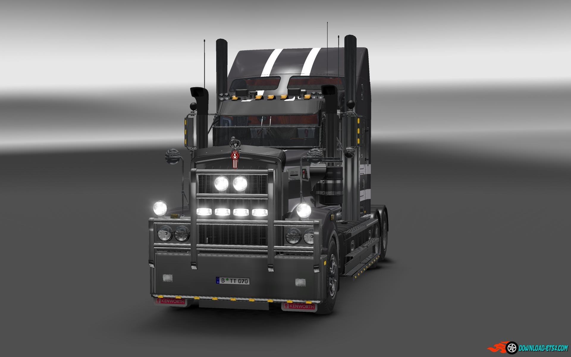 kenworth  interior  ets mods scs mods euro truck simulator  trucks ets