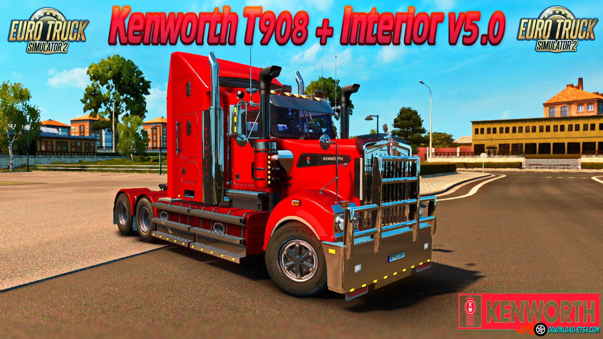 Kenworth T908 + Interior v5.0