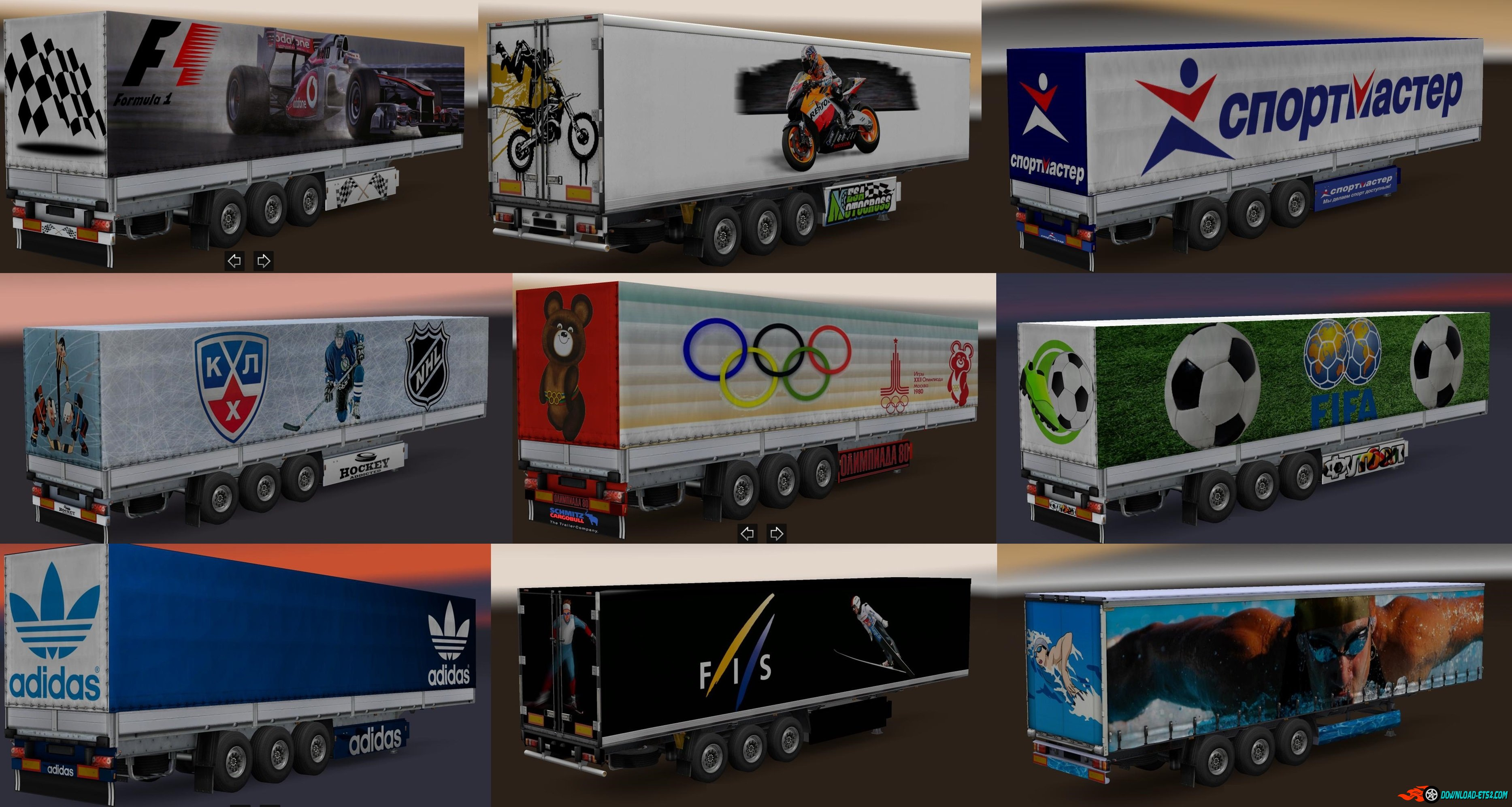 Trailer Pack Sport Theme v2.0
