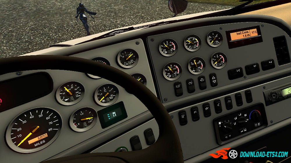 Peterbilt 387 On-board Computer