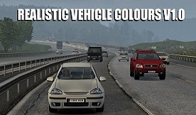 Realistic Vehicle Colours