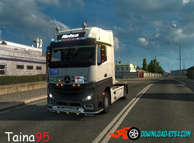 Mercedes Actros Mp4 V1.10