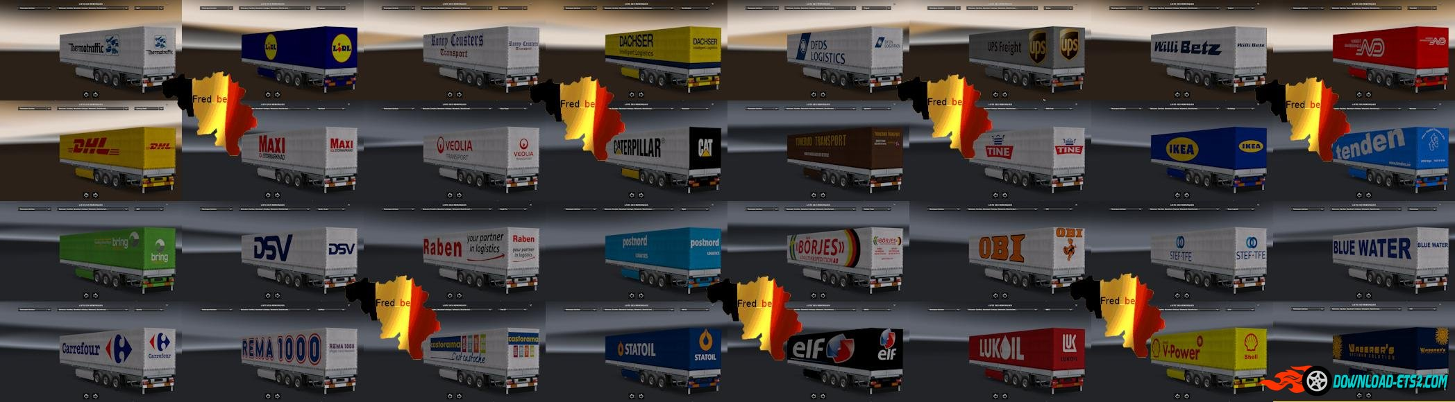 Trailers Pack Universal Replaces  [1.22.X]
