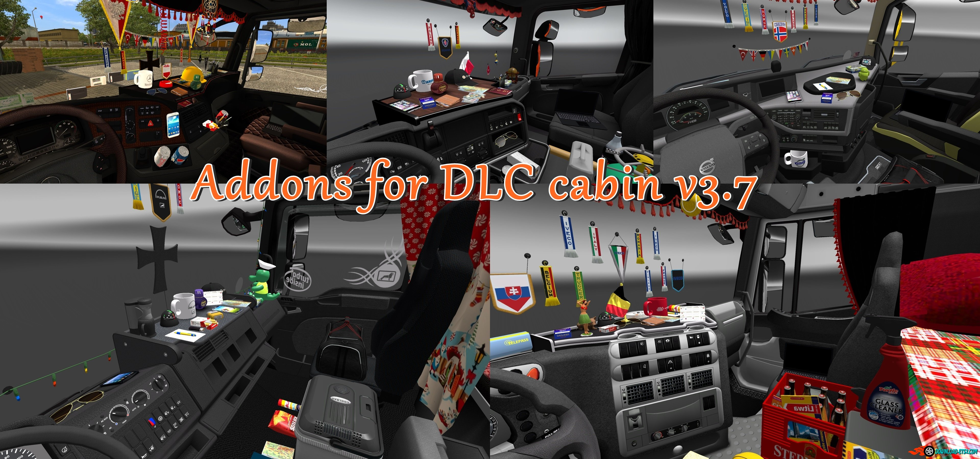 Addons for dlc_cabin v3.7