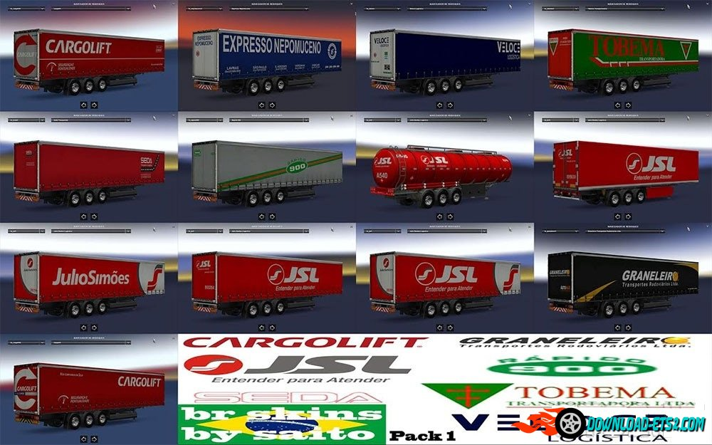 Brazilian Trailers Pack v1