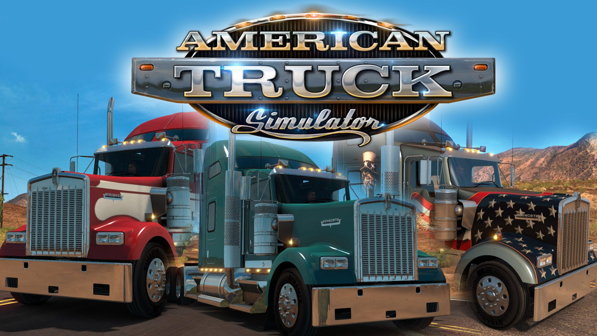 Kenworth W900 is now official in American Truck Simulator