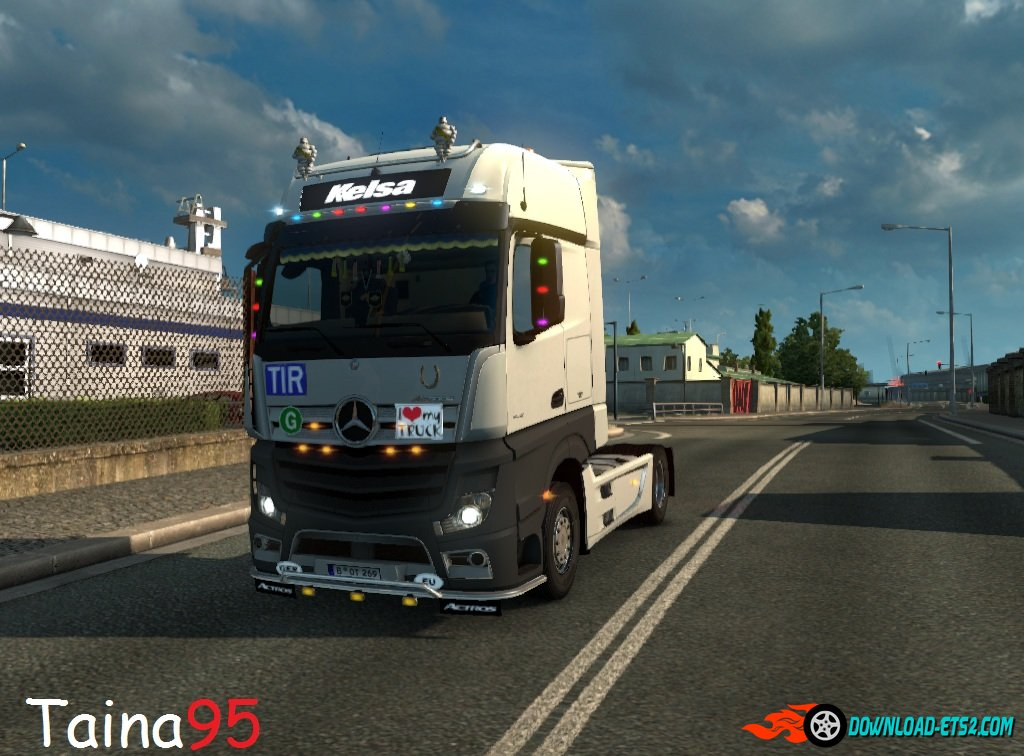 Mercedes Actros Mp4 V1.10-fix