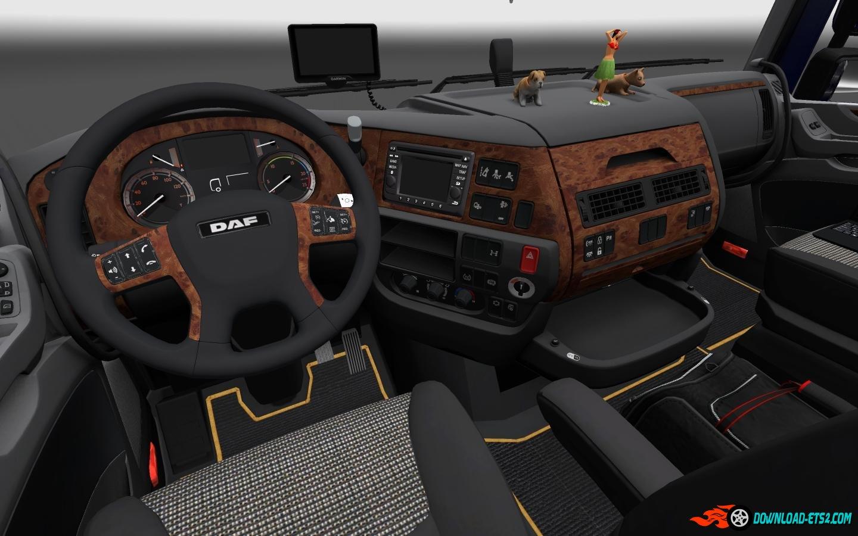 Daf xf euro 6 interior download ets 2 mods for Daf euro 6 interieur