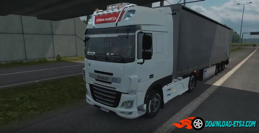 Daf Xf Euro 6 sound by Nelson