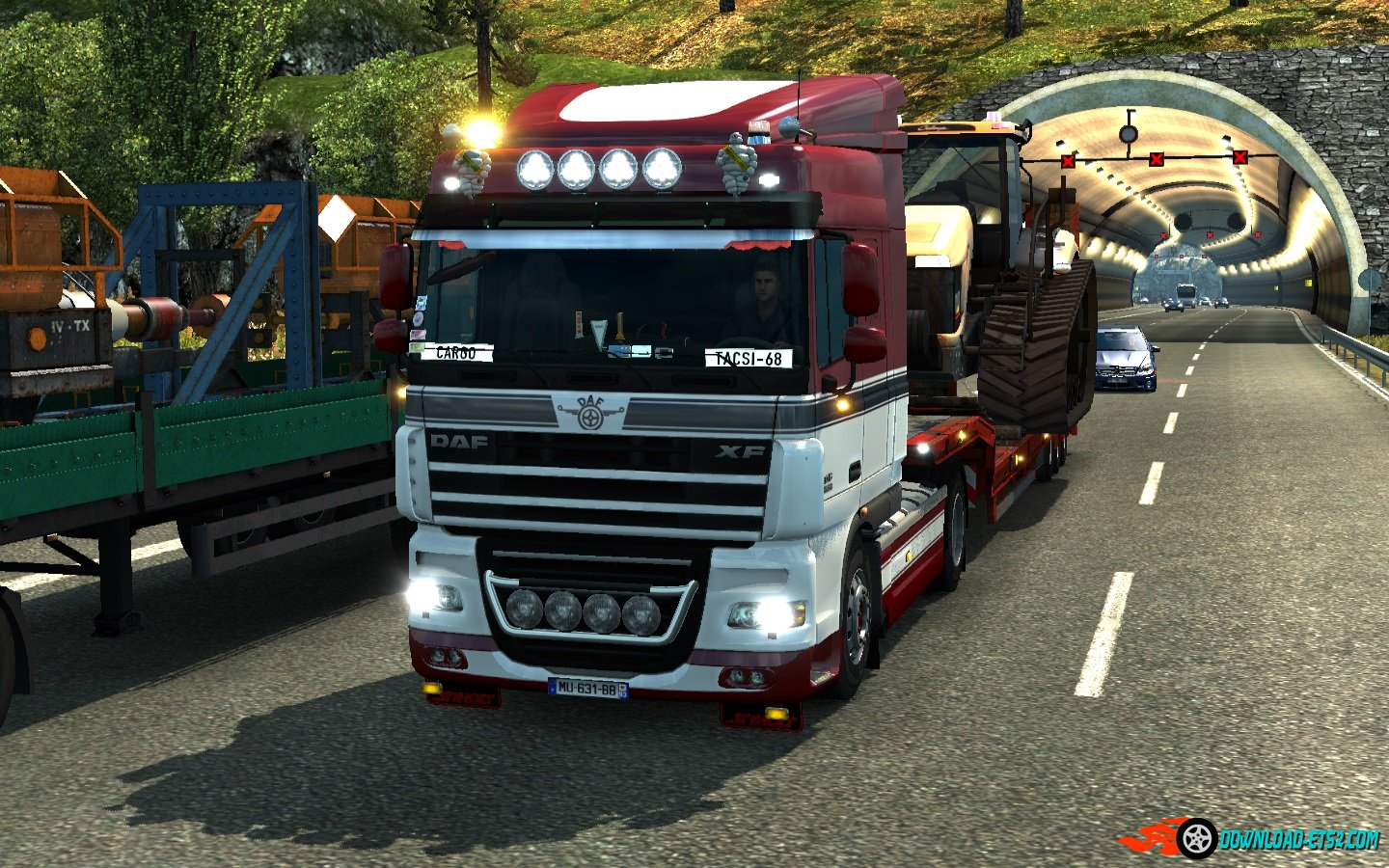 Daf xf 105 sound by Nelson