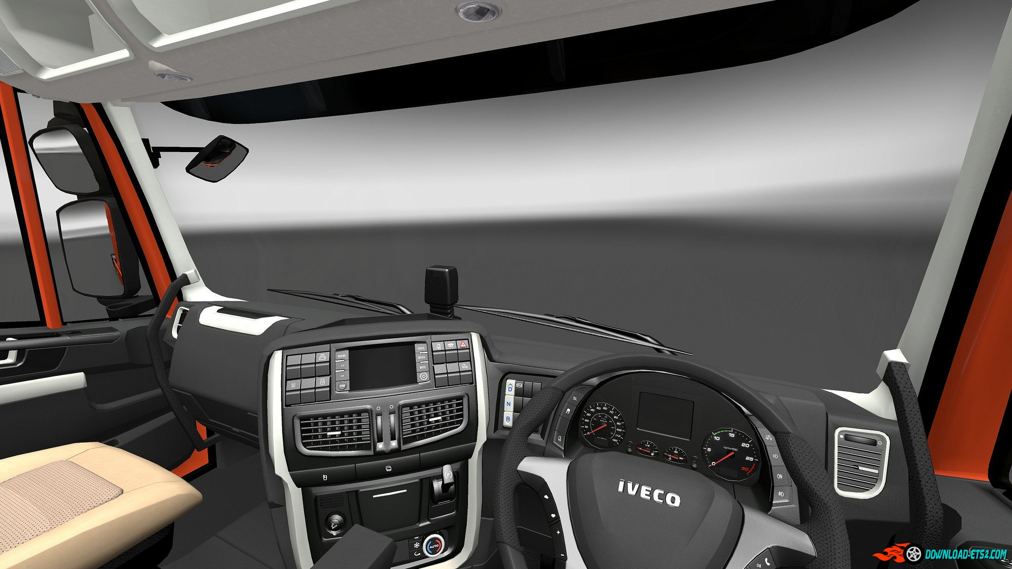 Iveco Stralis Hi-Way Interior/Exterior Rework v1.1