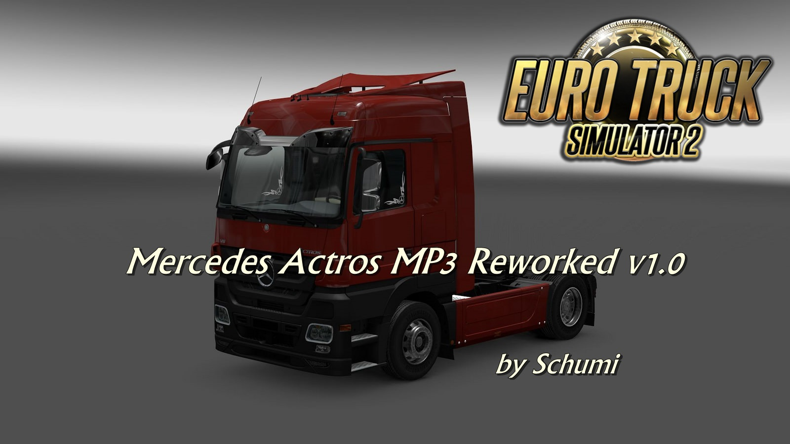 Mercedes Actros MP3 Reworked v1.0