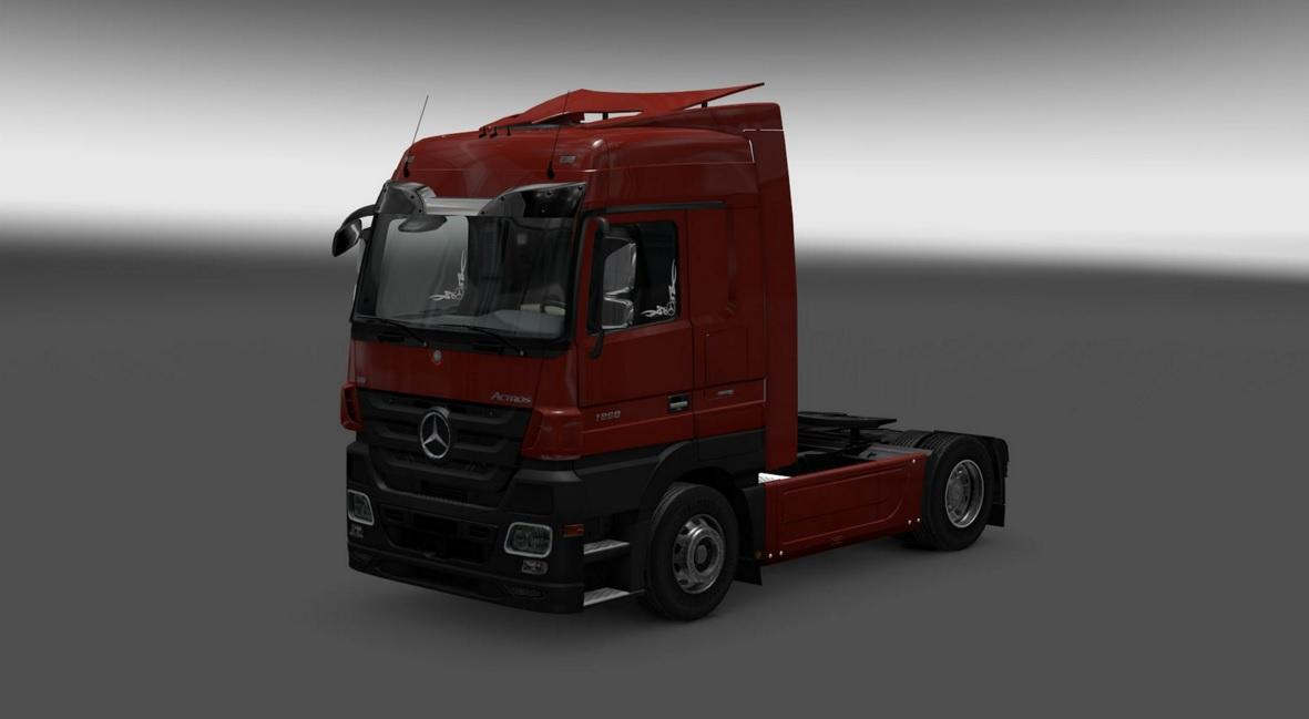 Mercedes Actros MP3 Reworked v 1.1 [1.23]