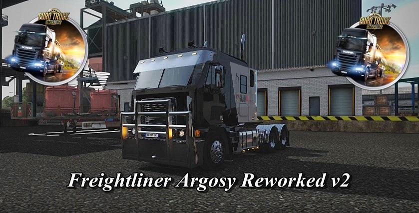 ETS2 Freightliner Argosy Reworked v2.0