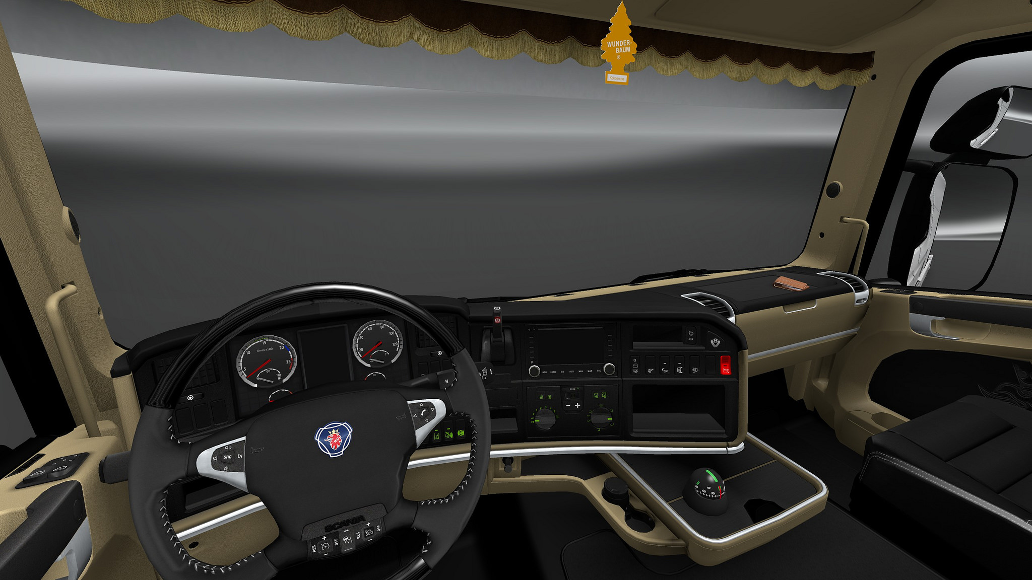 Scania trucks interiors & exteriors improvements pack v1.1