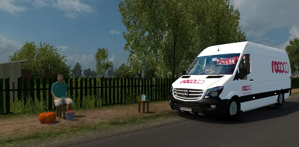 Mercedes Sprinter 2010 v1.1 By Klolo901