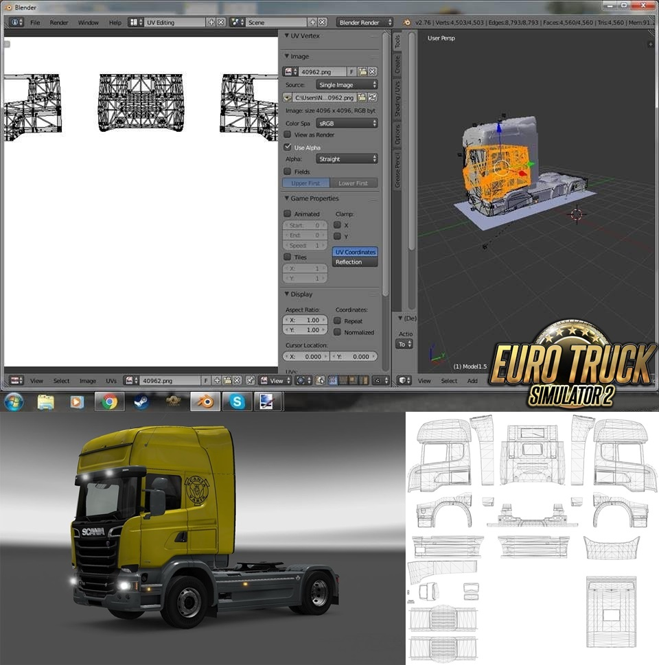 Template for Scania Streamline by Scs
