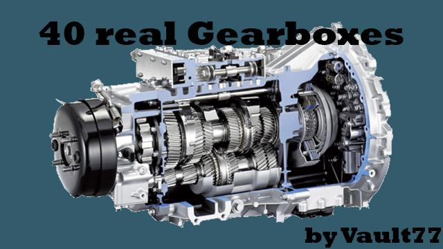 40 Real Gearbox Transmission Pack