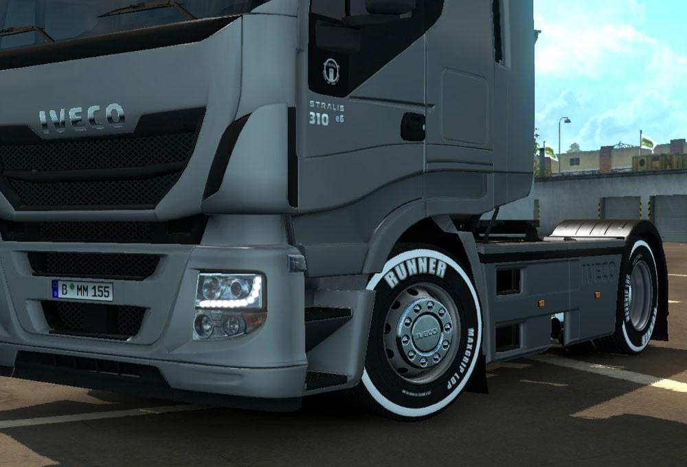 White Wheels v5.0 [ETS2]