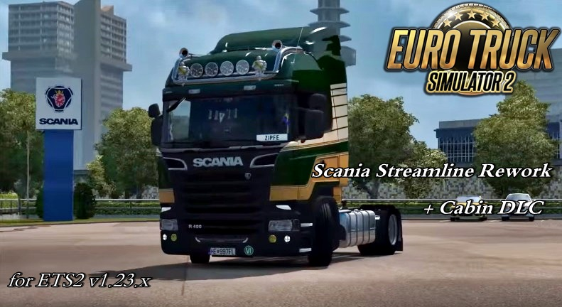 Scania Streamline Rework [1.23.x]