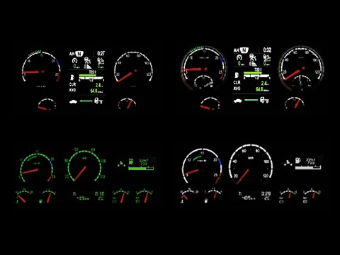Scania R & Streamline RJL Reworked Dashboards