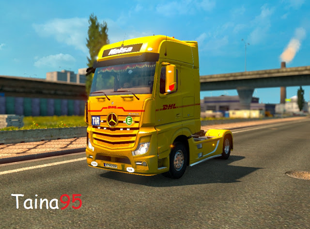 Mercedes Actros Mp4 V1.11 by Taina95