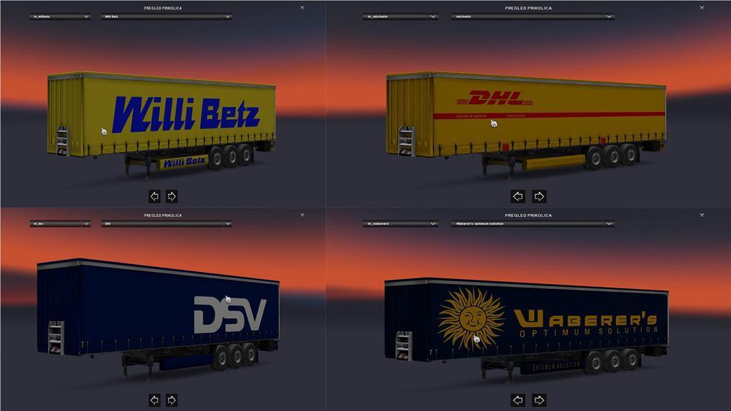 International Trailer Pack v1.0 by Gile004