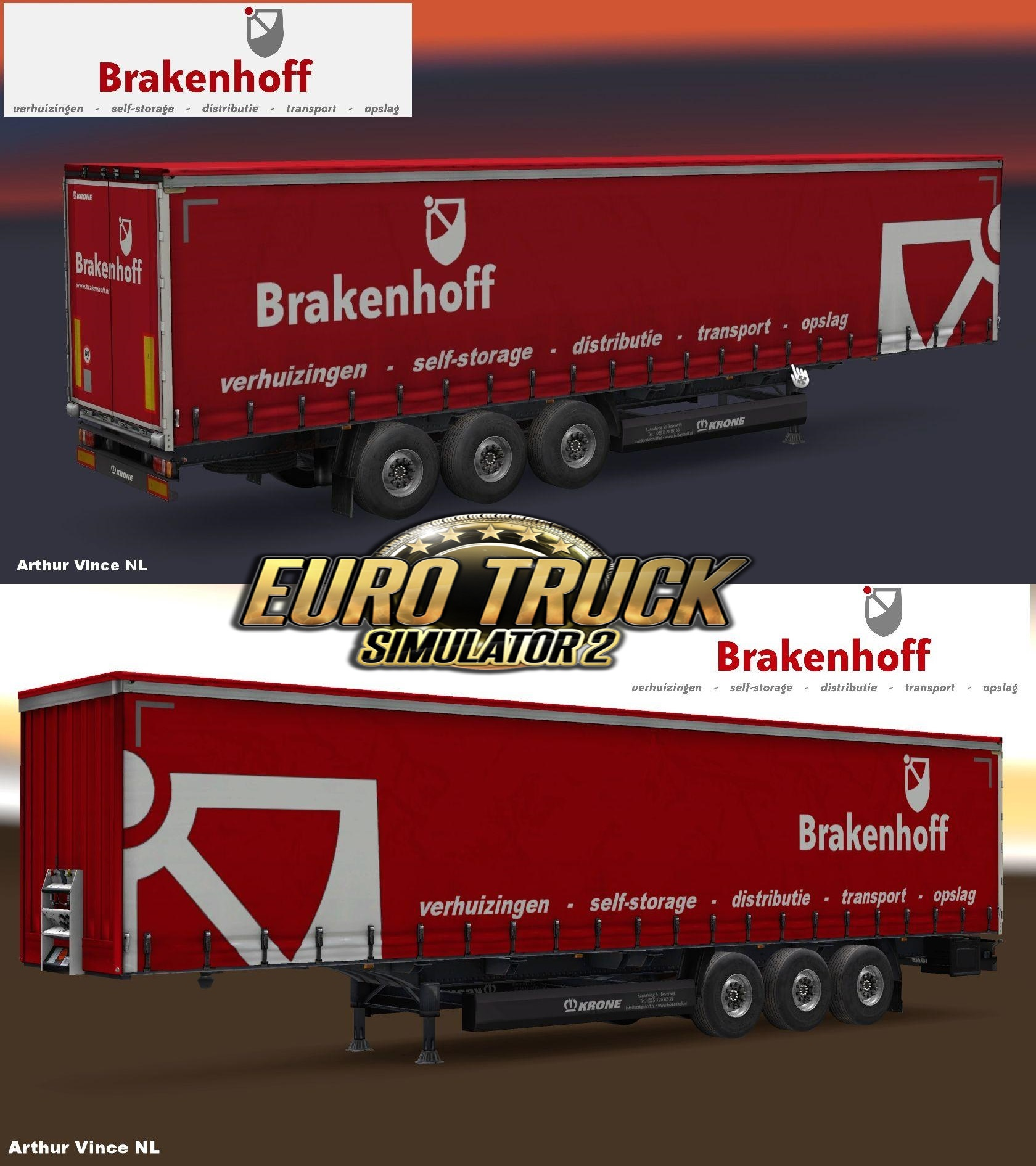 """Brakenhoff Transport B.V. ""(NL) Trailer"