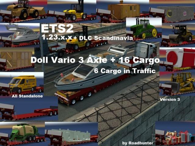 Doll Vario 3Axle with new backlight and in traffic v3.0 [1.23.x]