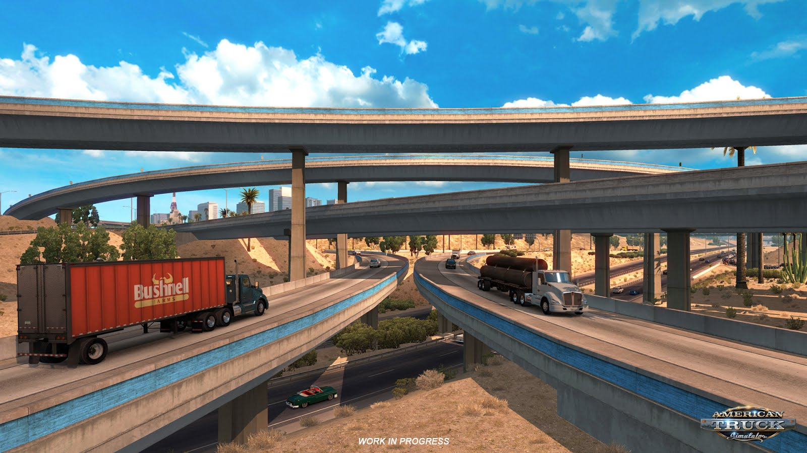 Arizona road network for American Truck Simulator
