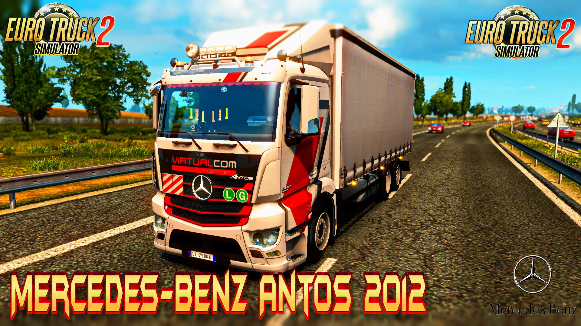 Mercedes-Benz Antos 2012 + Interior v1.2.0.1.23 R1.27.2.9 (1.27.x)