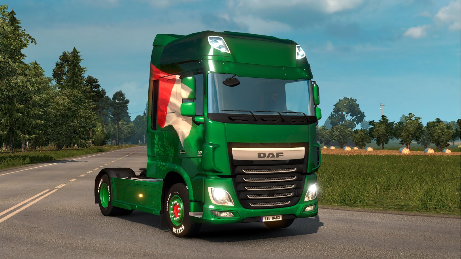 Italian and Slovak Paintjob DLCs for ETS2