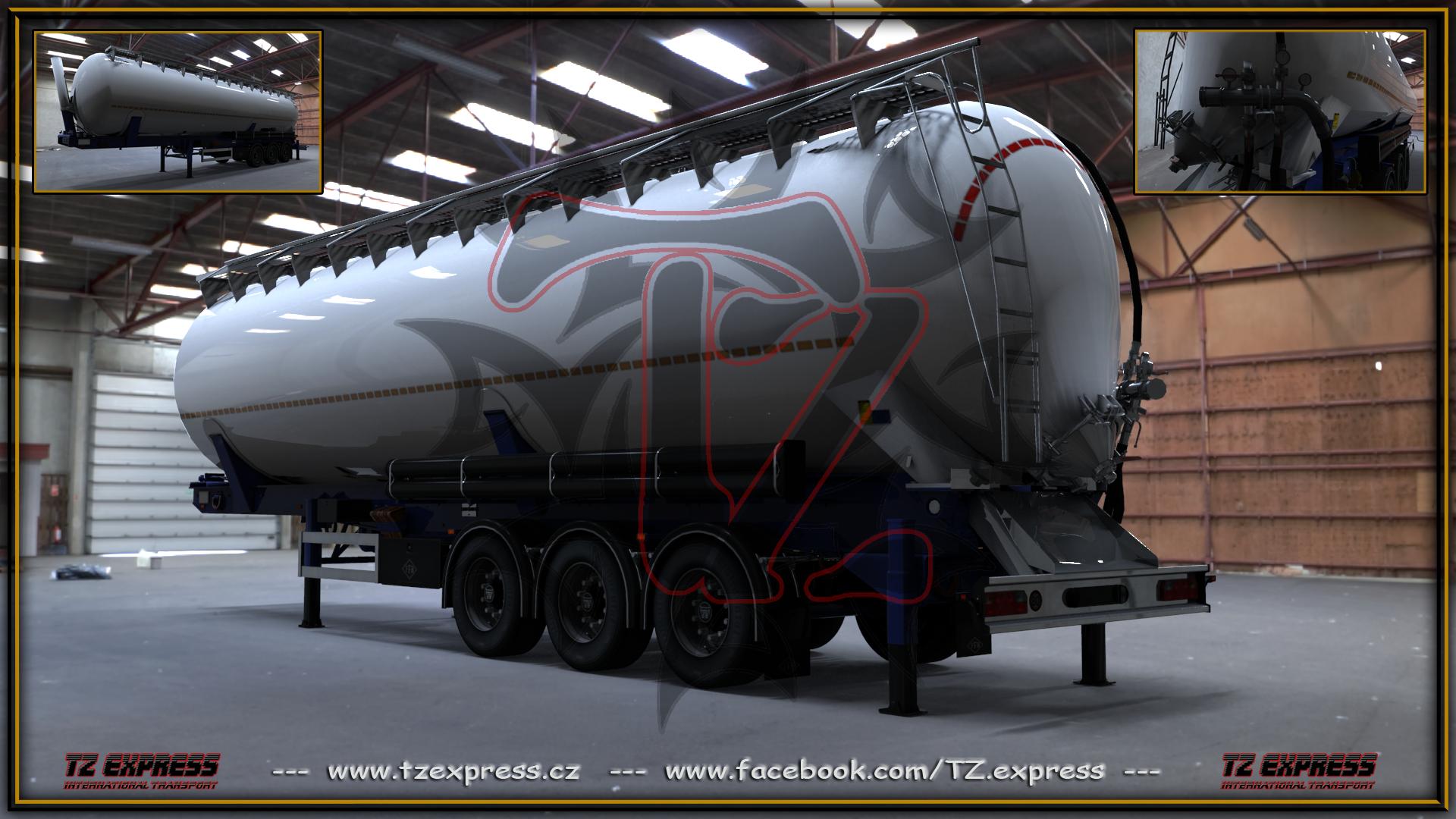 TZ Express – Feldbinder KIP 63.3 silo [1.23.x]