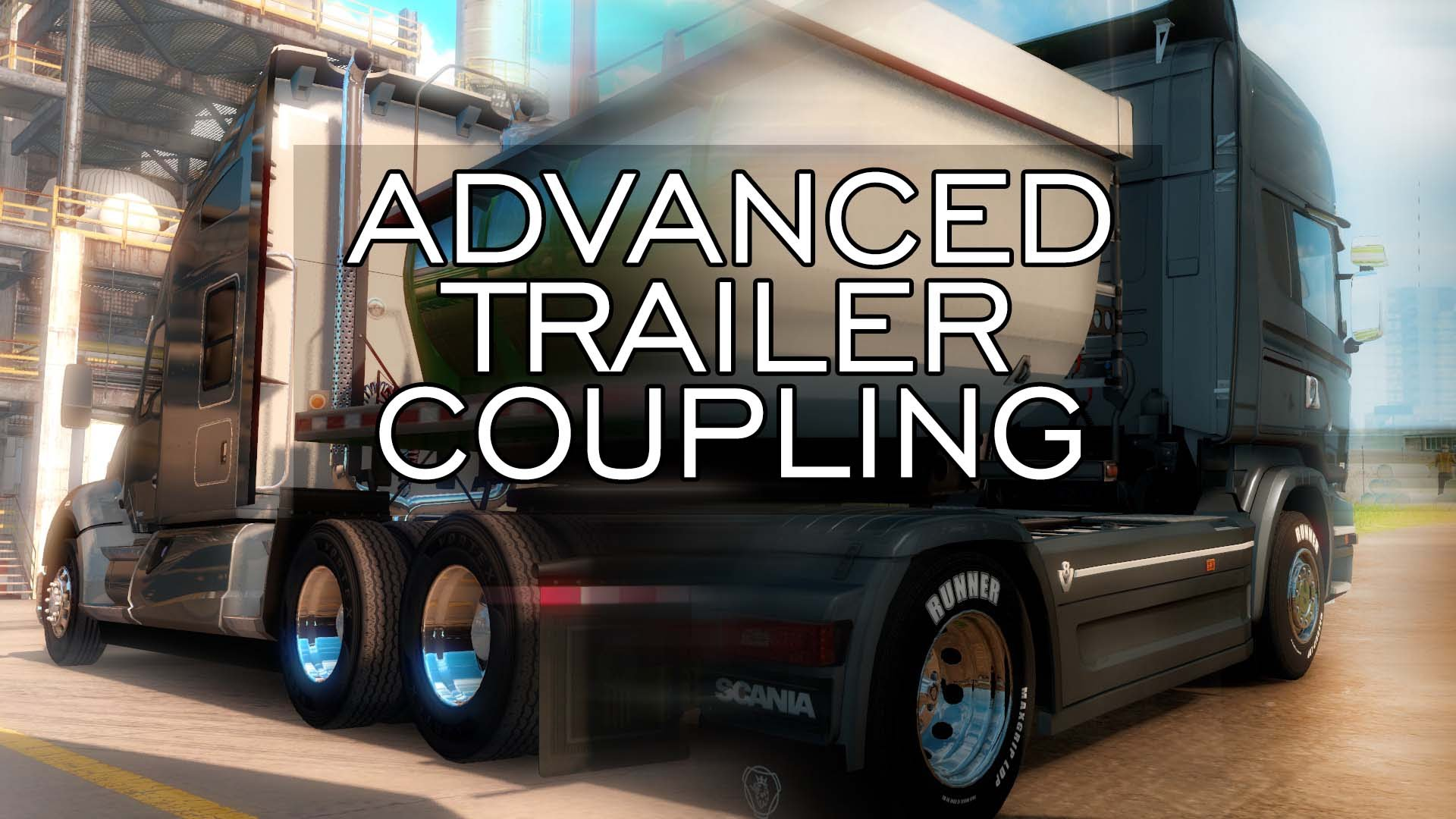 Advanced Trailer Coupling (Euro Truck Simulator 2)