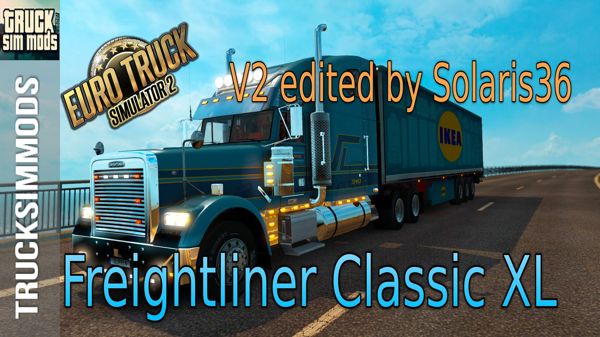 Freightliner Classic XL + Interior v2.0 (Custom) by Solaris36 (1.25.x)