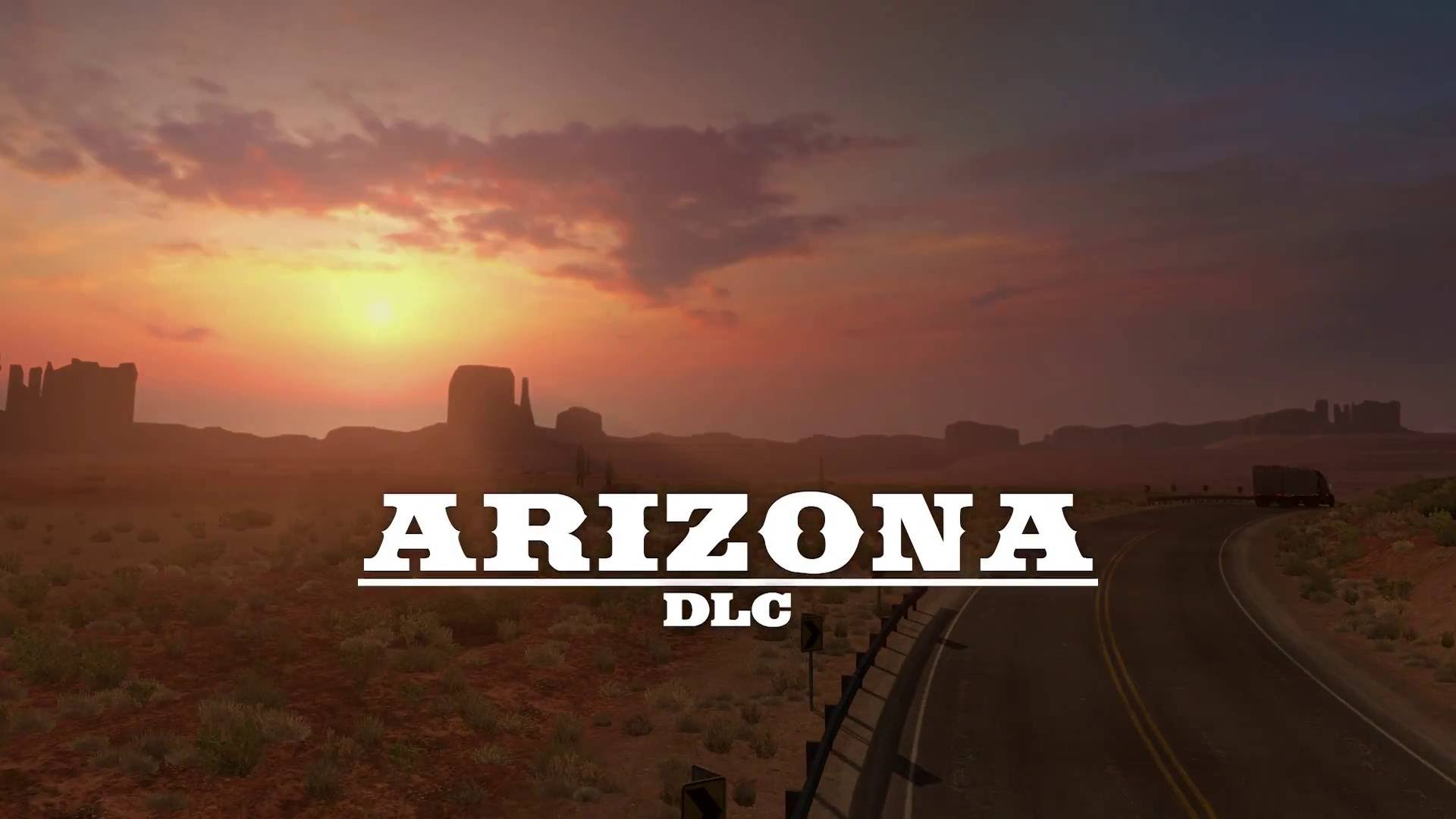 American Truck Simulator Update 1.3 + Arizona DLC