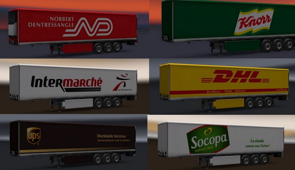 Real French Company Trailers Pack