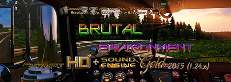 Brutal Environment HD & SOUND engine [1.24.x]