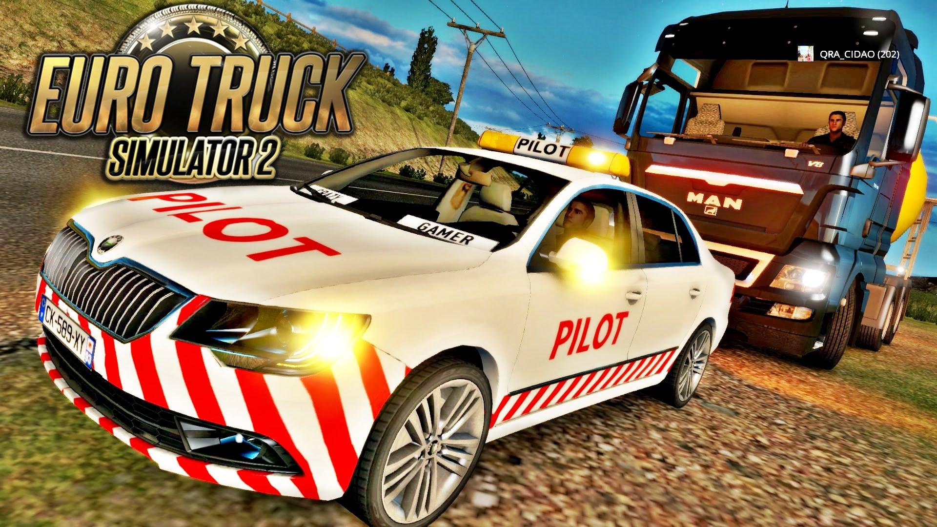 Escoltando Caminhão - Euro Truck Simulator 2 Multiplayer