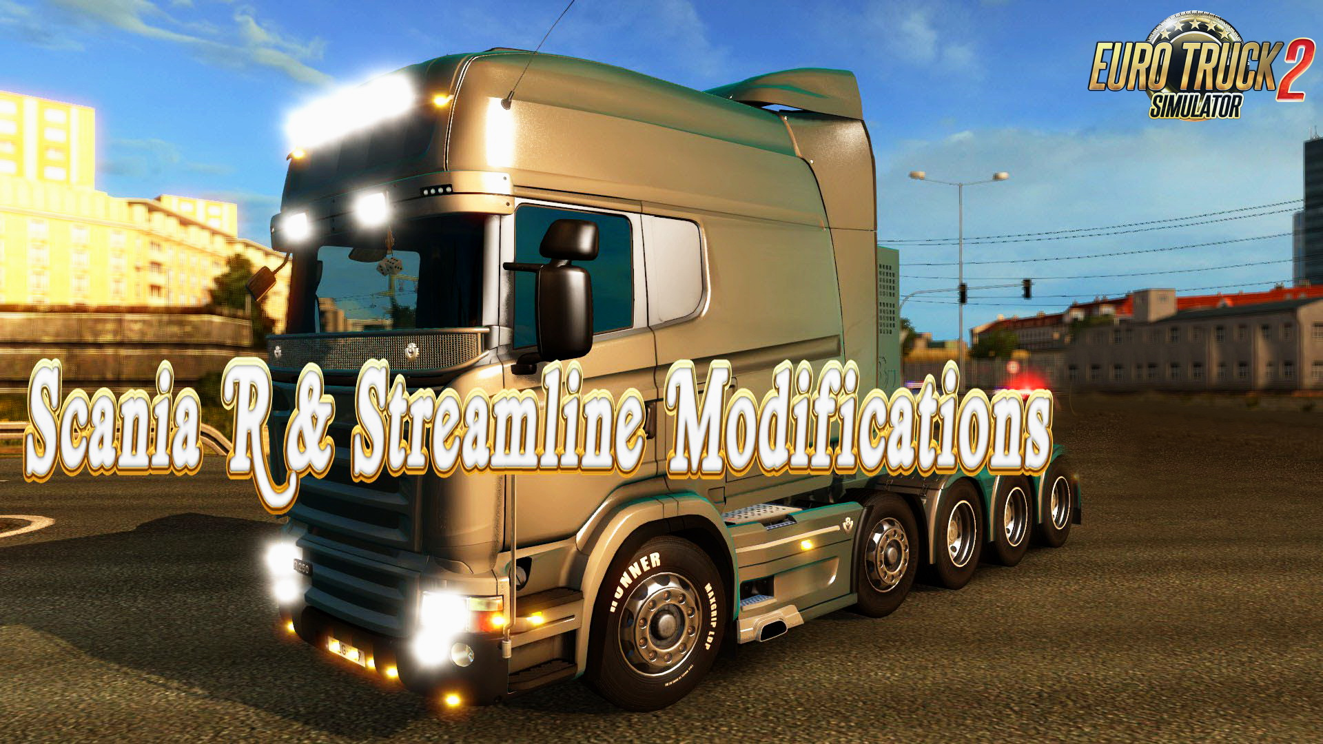 Scania R & Streamline Modifications v1.5.2.1 by RJL
