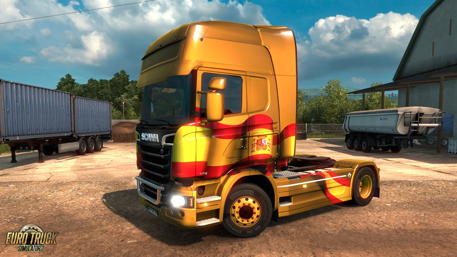 Spanish Paintjobs Pack for ETS 2
