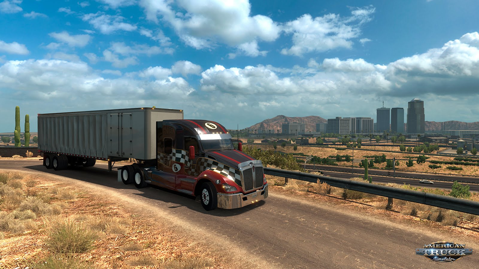 Arizona map DLC expansion for ATS released!