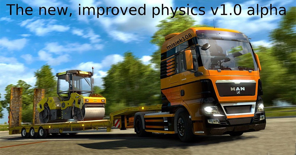 The new, improved physics v1.0 (Alpha) by Misiek108