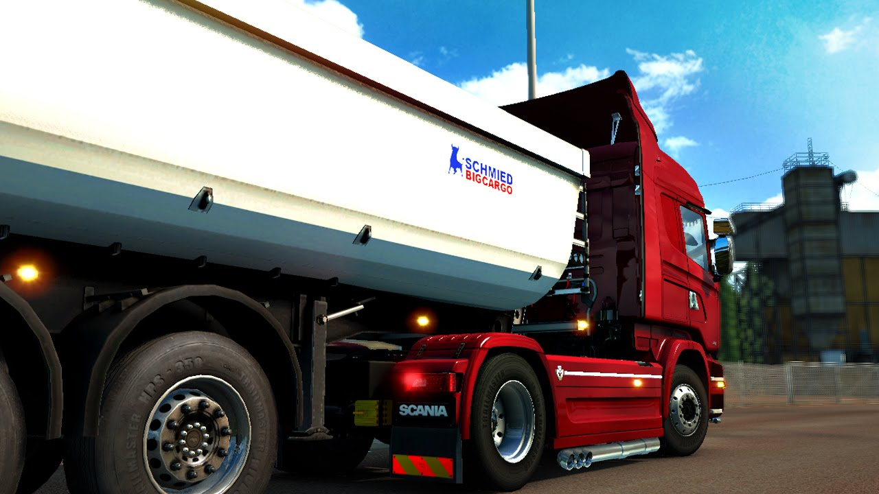Advanced Trailer Coupling in Euro Truck Simulator 2