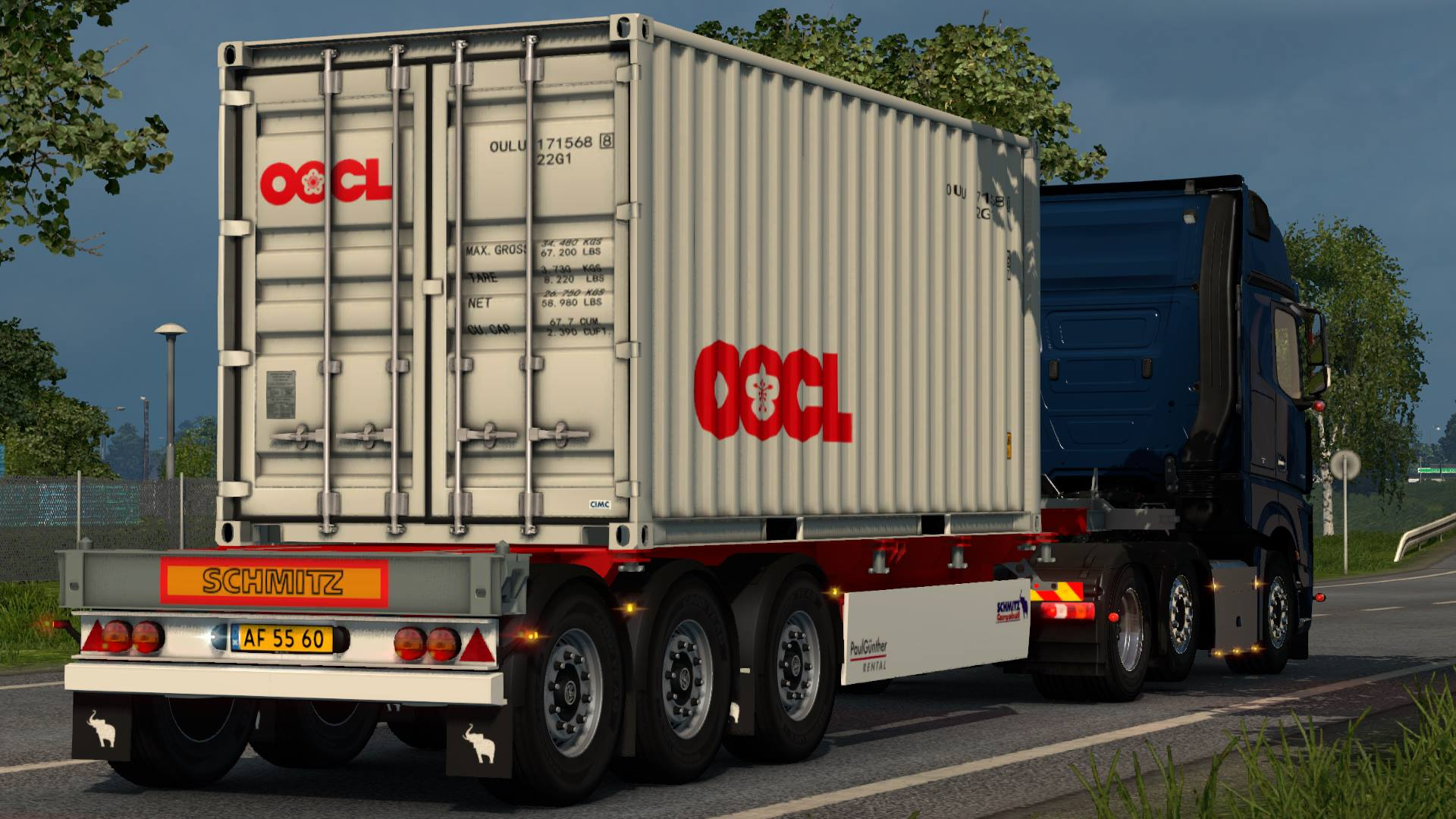 SCS Trailer Patch V1.2 by Bora