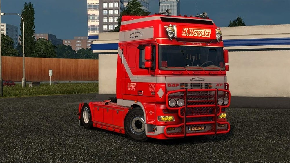 DAF XF Super Space Cab Weeda
