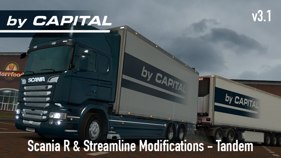 Scania R & S by RJL Tandem v3.1 by Capital