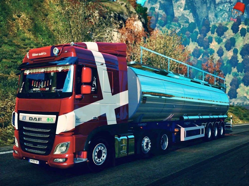 Tank Trailer for Ets2